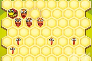 《小蜜蜂采蜂蜜》游戏画面2