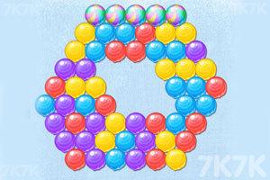 《颜料球泡泡龙》游戏画面3