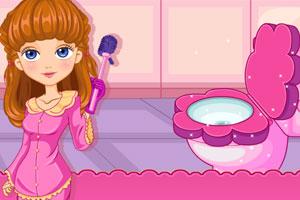 《爱清洁的公主》游戏画面1