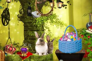 《迷路的兔子》游戏画面1