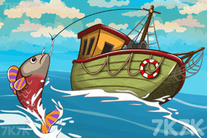 《我们去钓鱼吧》游戏画面1