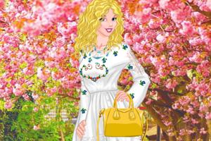 《女孩的四季装扮》游戏画面1