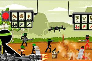 《火柴人戰隊之戰》游戲畫面3