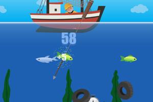 《鱼叉捕鱼》游戏画面1