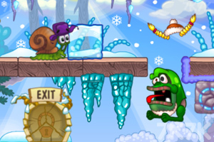 《蜗牛寻新房子6H5版》游戏画面1
