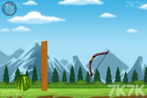 《射穿西瓜》游戏画面2