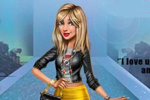 《潮流杂志模特》游戏画面1