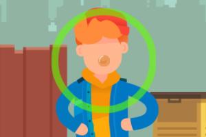 《泡泡糖戏法》游戏画面1