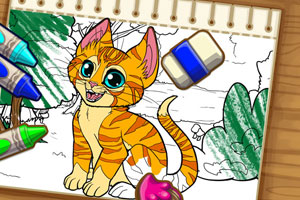 《给动物填色》游戏画面1