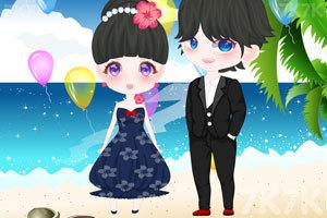 《海滩的浪漫婚礼》游戏画面3