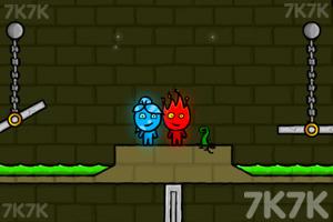 《冰娃与火娃》游戏画面2