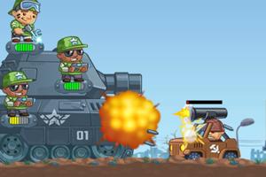 《保卫坦克大作战无敌版》截图1