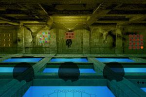 《城堡地下王国逃脱》游戏画面1