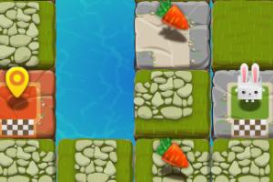 《兔子的追求选关版》游戏画面1