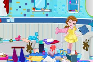 《小公主浴室清洁》游戏画面1