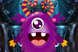 《紫色小怪兽救援》游戏画面1
