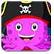 救援海盜章魚