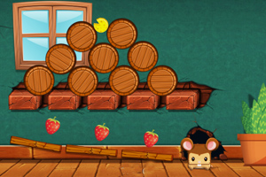 《滚动的奶酪选关版》游戏画面1