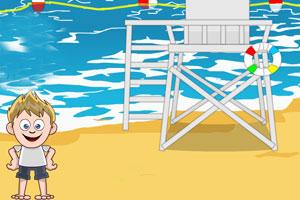 《海滩小镇逃生》游戏画面1