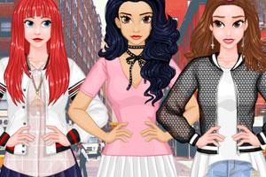《女孩的秋季装》游戏画面1
