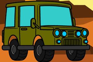 《越野车涂颜色》游戏画面1