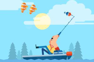 《大叔钓鱼》游戏画面1