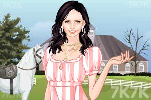 《农场漂亮女孩》游戏画面1