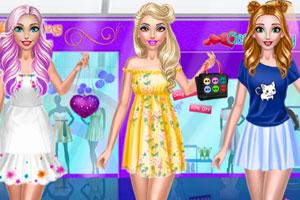 《沫沫的可爱装扮》游戏画面1