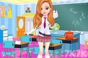 《索菲亚日系校服》游戏画面2
