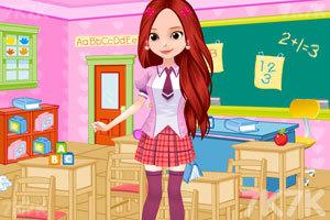 《索菲亚日系校服》游戏画面3