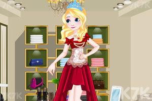 《美丽公主的衣橱》游戏画面3