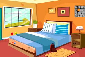 《单人房间逃脱》游戏画面1