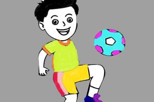 《足球图画册》游戏画面1