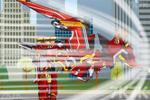 《组装机械消防翼龙2》游戏画面4