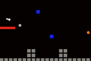 《白球进红洞》游戏画面1