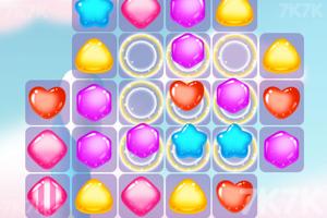 《五彩蜜糖对对碰》游戏画面2