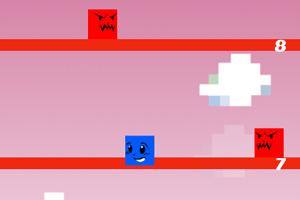 《像素方块向上跳》截图1