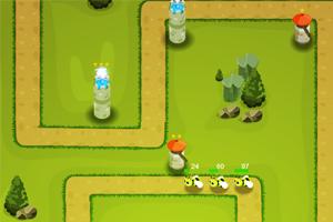 《虫虫塔防战》游戏画面1