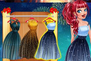 《公主们的新年装扮》游戏画面1