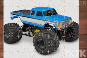 《怪物卡车拼图挑战》游戏画面3