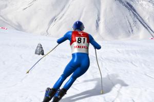 《急速下坡滑雪》截图2