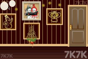 《逃离棕色调房屋》游戏画面2