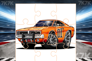 《改装车辆拼图》游戏画面1