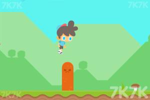 《带帽男孩跑酷》游戏画面1