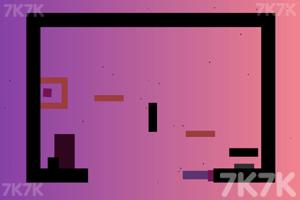 《受困的黑方块》游戏画面1
