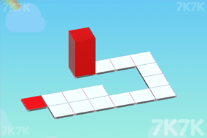 《滚动的红色方块》截图3