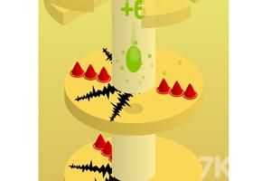 《下降的颜料球》游戏画面3