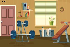 《家庭健身房逃脱》游戏画面1