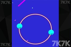 《圆形行星》游戏画面2