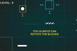 《弹跳球进方框》游戏画面1